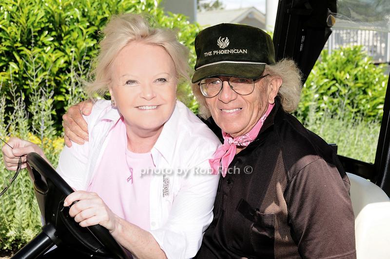 Jane Pontarelli and Stu Feinstein<br /> photo by Rob Rich © 2010 robwayne1@aol.com 516-676-3939