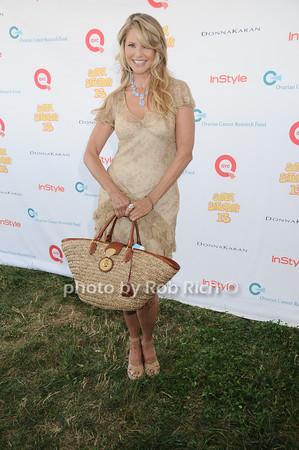 Christy Brinkley attends Super Saturday 13 to benefit the Ovarian Cancer Research Fund @ Nova's Ark Project in Water Mill. on July 31,2010. photo by Rob Rich/SocietyAllure.com