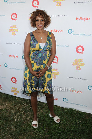 Gayle King attends Super Saturday 13 to benefit the Ovarian Cancer Research Fund @ Nova's Ark Project in Water Mill. on July 31,2010. photo by Rob Rich/SocietyAllure.com