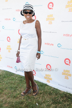 Star Jones attends Super Saturday 13 to benefit the Ovarian Cancer Research Fund @ Nova's Ark Project in Water Mill. on July 31,2010. photo by Rob Rich/SocietyAllure.com
