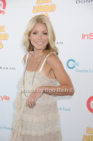 Kelly Ripa attends Super Saturday 13 to benefit the Ovarian Cancer Research Fund @ Nova's Ark Project in Water Mill. on July 31,2010. photo by Rob Rich/SocietyAllure.com