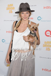 Model Jessica Hart attends Super Saturday 13 to benefit the Ovarian Cancer Research Fund @ Nova's Ark Project in Water Mill. on July 31,2010. photo by Rob Rich/SocietyAllure.com