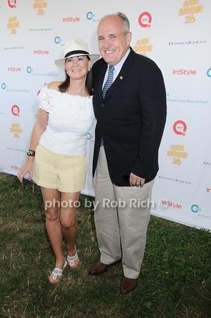 Judy Giuliani, Rudy Giuliani<br /> photo by Rob Rich © 2010 robwayne1@aol.com 516-676-3939