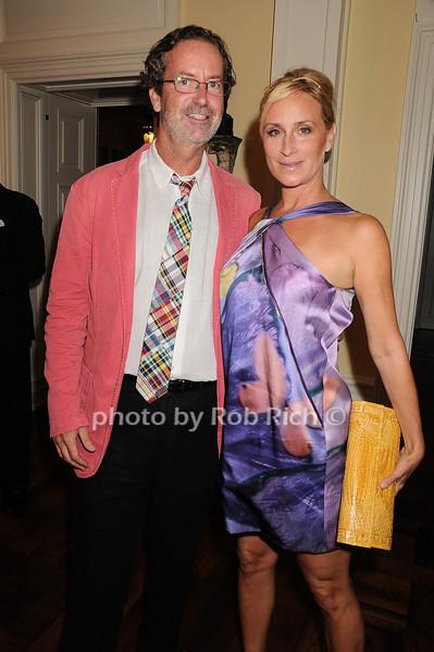 Chris Robbins, Sonja Morgan<br /> photo by Rob Rich © 2010 robwayne1@aol.com 516-676-3939