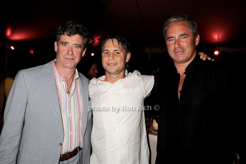 Jay McInerney, Jason Binn, Campion Platt<br /> photo by Rob Rich © 2010 robwayne1@aol.com 516-676-3939