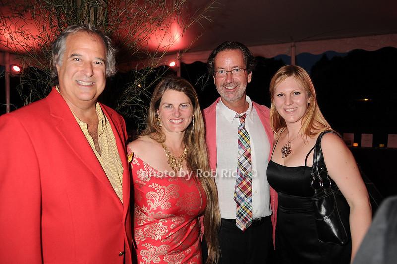 Stewart Lane, Bonnie Comley, Chris Robbins, guest<br /> photo by Rob Rich © 2010 robwayne1@aol.com 516-676-3939