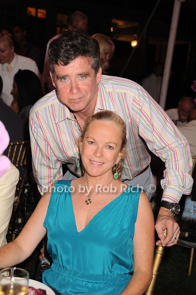 Jay McInerney, Ann Hearst McInerney<br /> photo by Rob Rich © 2010 robwayne1@aol.com 516-676-3939