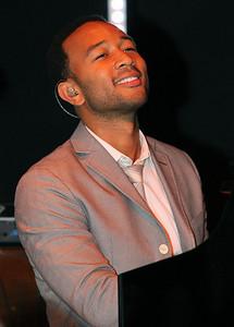 John Legend at piano