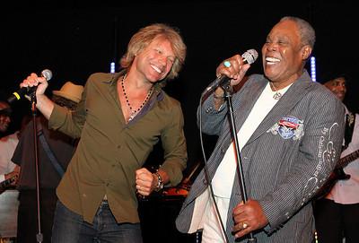 Jon Bon Jovi and Sam Moore 5