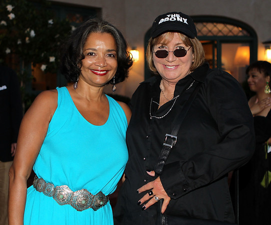 Jonelle and Penny Marshall