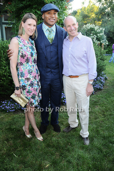 Lizzie Tisch, L.L.Cool J , Jonathan Tisch<br /> photo by Rob Rich © 2010 robwayne1@aol.com 516-676-3939