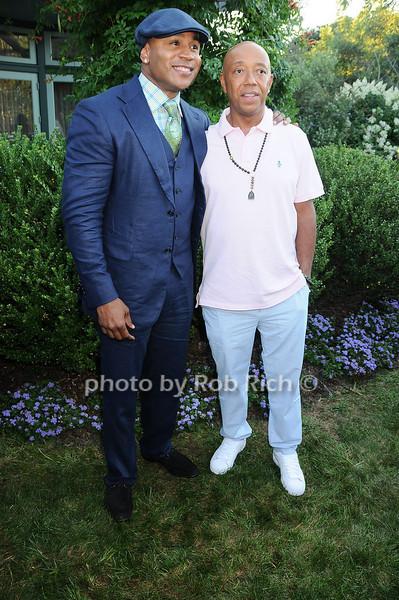 L.L.Cool J , Russell Simmons<br /> photo by Rob Rich © 2010 robwayne1@aol.com 516-676-3939