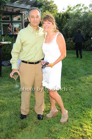 Craig Klosk  and Tricia Kallet at the Red Hot Red Cross Cocktail event at the residence of  Tricia Kallet and and Craig Klosk in Sagaponack on August 7, 2010. photo by Rob Rich/SocietyAllure.com