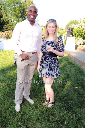 Damien Granderson, Erin Love photo by Rob Rich © 2010 robwayne1@aol.com 516-676-3939