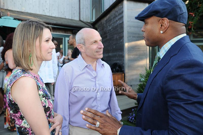 Lizzie Tisch, Jonathan Tisch, L.L.Cool J  photo by Rob Rich © 2010 robwayne1@aol.com 516-676-3939