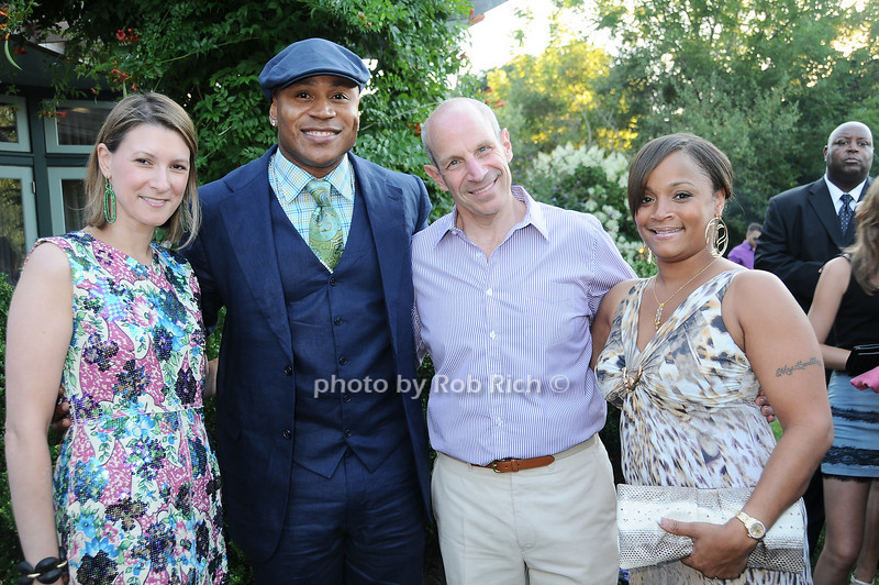 Lizzie Tisch, L.L.Cool J , Jonathan Tisch, Simone Smith<br /> photo by Rob Rich © 2010 robwayne1@aol.com 516-676-3939