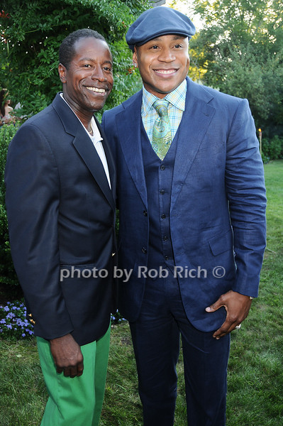 Malcolm A. Smith, L.L.Cool J <br /> photo by Rob Rich © 2010 robwayne1@aol.com 516-676-3939