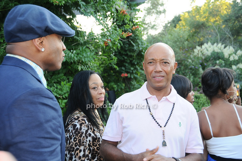L.L.Cool J, Russell Simmons <br /> photo by Rob Rich © 2010 robwayne1@aol.com 516-676-3939