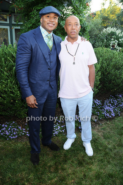 L.L.Cool J , Russell Simmons<br /> photo by Rob Rich © 2010 robwayne1@aol.com 516-676-3939