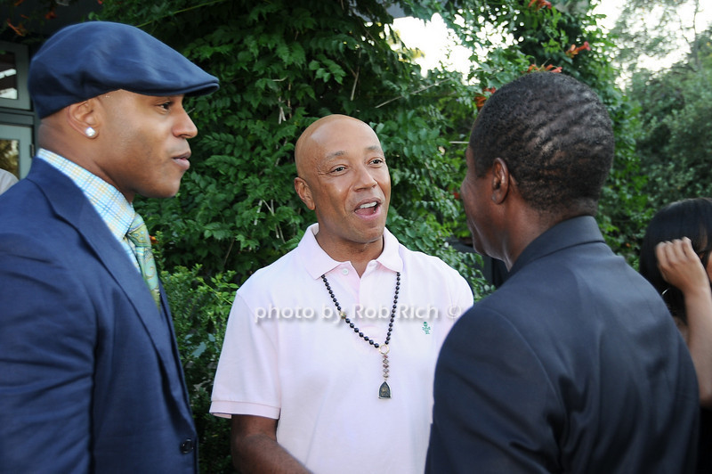 L.L.Cool J, Russell Simmons, Malcolm A. Smith