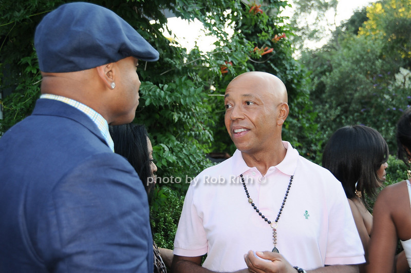L.L.Cool J, Russell Simmons 