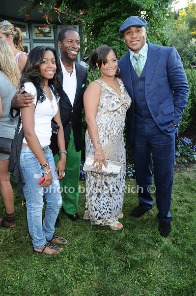 guest, Malcolm A. Smith, Simone Smith, L.L. Cool J<br /> photo by Rob Rich © 2010 robwayne1@aol.com 516-676-3939