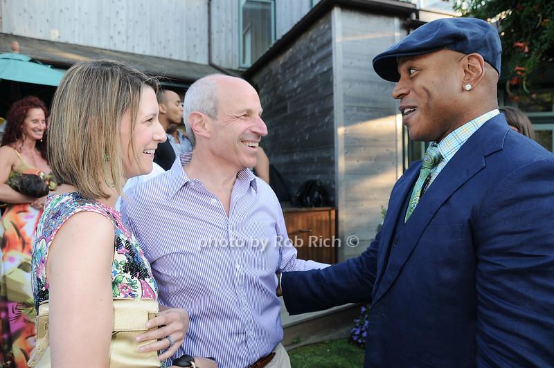 Lizzie Tisch, Jonathan Tisch, L.L.Cool J <br /> photo by Rob Rich © 2010 robwayne1@aol.com 516-676-3939