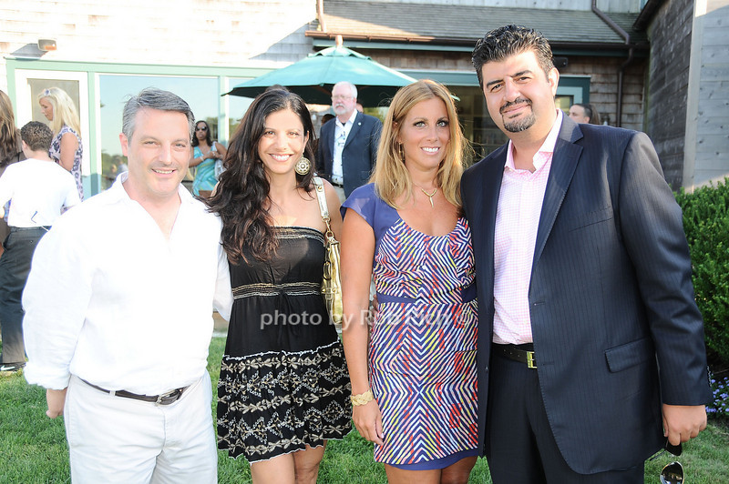 Frank Tepedino, Victoria Tepedino,Kimberly Lerian, Aret Lerian<br /> photo by Rob Rich © 2010 robwayne1@aol.com 516-676-3939