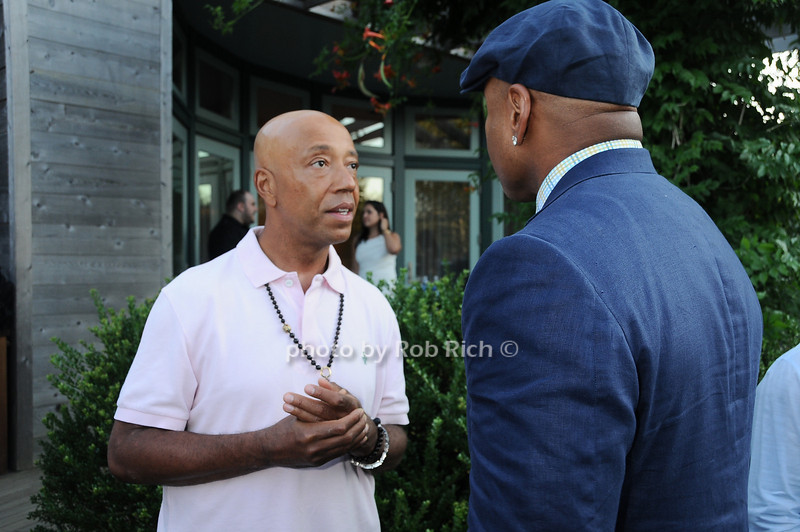 Russell Simmons, L.L. Cool J<br /> photo by Rob Rich © 2010 robwayne1@aol.com 516-676-3939
