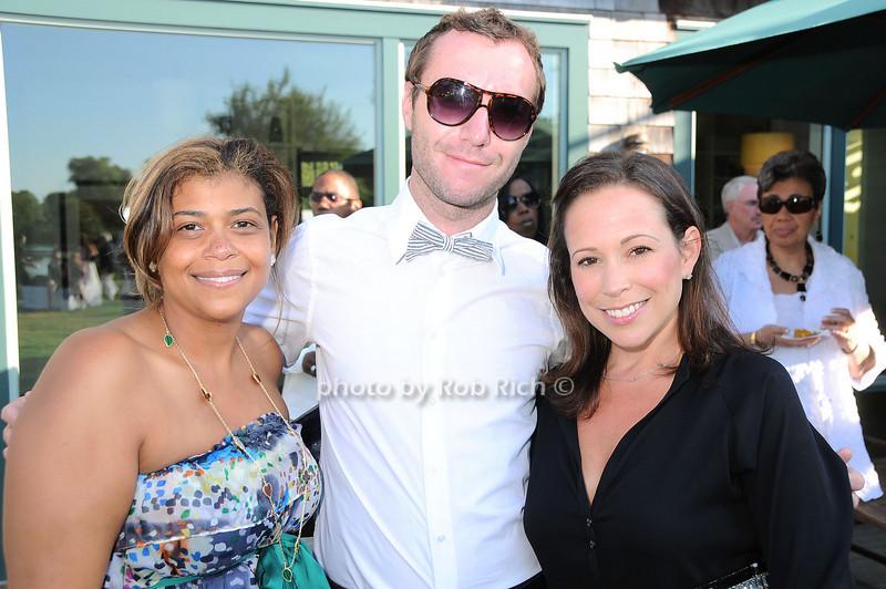 Claudine Joseph, Rhett Usry, Robin Katz Boyarsky<br /> photo by Rob Rich © 2010 robwayne1@aol.com 516-676-3939