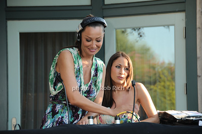 DJ Sky Nellor, Olivia Anysz photo by Rob Rich © 2010 robwayne1@aol.com 516-676-3939