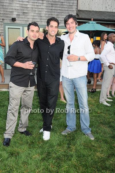 Mike Tanello, Ed Spector, Nicolas Davidoff<br /> photo by Rob Rich © 2010 robwayne1@aol.com 516-676-3939