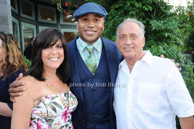 Dr. Laurie Suser, L.L. Cool J, Jeff Elson<br /> photo by Rob Rich © 2010 robwayne1@aol.com 516-676-3939