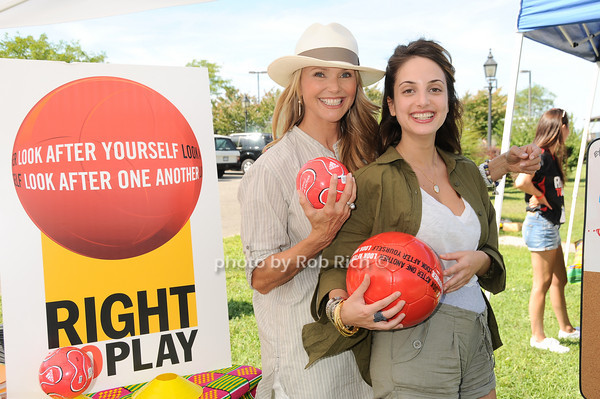 "Christie Brinkley and daughter Alexa Ray Joel attending the ""Right to Play USA"" fundraiser in Sag Harbor on August 14, 2010. photo by Rob Rich/SocietyAllure.com <br /> photo by Rob Rich © 2010 robwayne1@aol.com 516-676-3939"