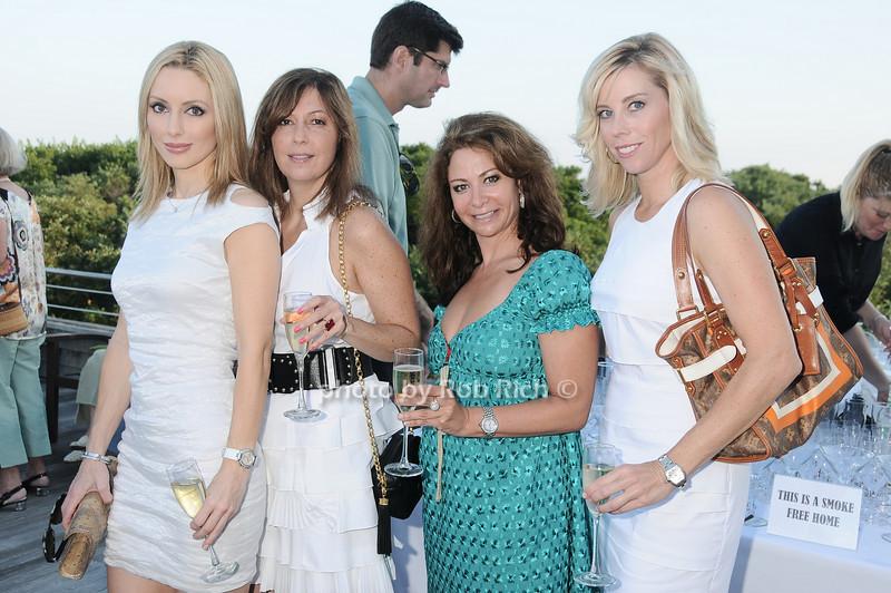 Melanie Endsley, Caroline Sipourene, Penny Gutman, Alexis Weaver<br /> photo by Rob Rich © 2010 robwayne1@aol.com 516-676-3939