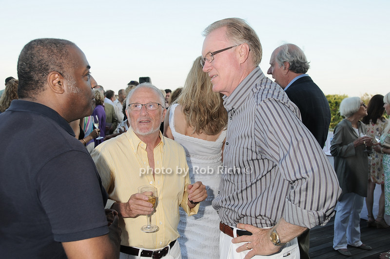 Jeffrey Banks, Stan Herman, Chuck Scarborough<br /> photo by Rob Rich © 2010 robwayne1@aol.com 516-676-3939