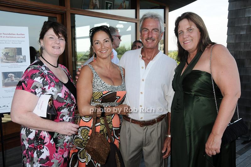 Eileen Hughes, Valentina Hadland, Dr. David Hadland, Lee George<br /> photo by Rob Rich © 2010 robwayne1@aol.com 516-676-3939