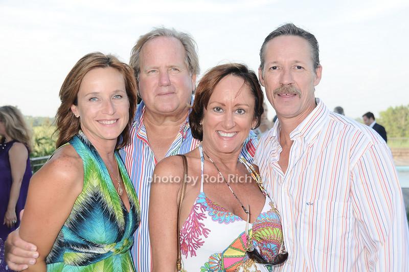 Lisa Venus, John Grunow, Rebecca Blissett, Mark Blissett<br /> photo by Rob Rich © 2010 robwayne1@aol.com 516-676-3939