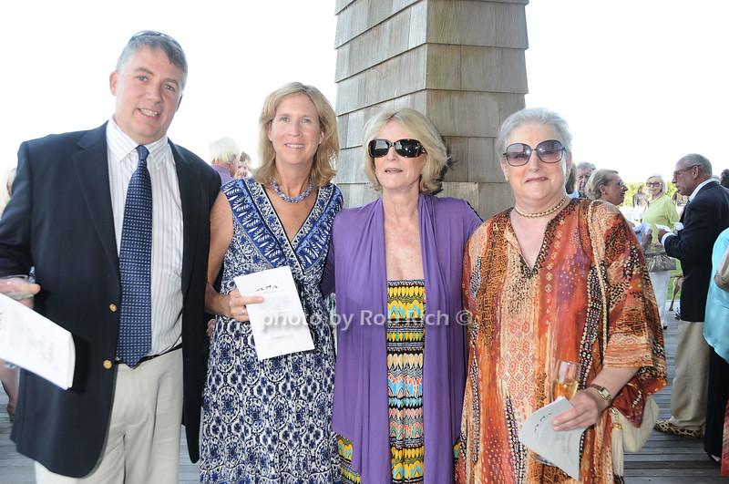Andrew Roth, Cynthia Roth, Susan Allen, Linda Felner<br /> photo by Rob Rich © 2010 robwayne1@aol.com 516-676-3939