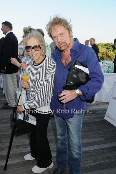 Mary Gray and actor Kevin Conway<br /> photo by Rob Rich © 2010 robwayne1@aol.com 516-676-3939