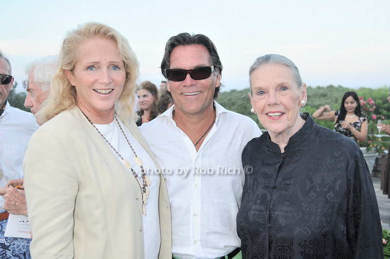 Jane Gil, Peter Hallock, Barbara Sloane<br /> photo by Rob Rich © 2010 robwayne1@aol.com 516-676-3939