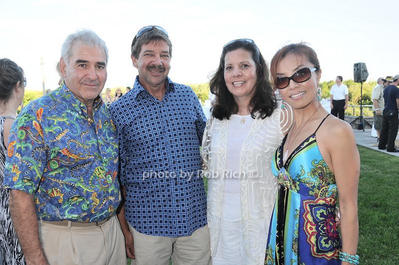 Andy Sabin, Tommy Edwards, Rebecca Edwards, Sally Fan<br /> photo by Rob Rich © 2010 robwayne1@aol.com 516-676-3939