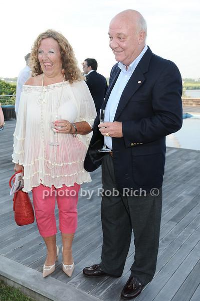 Laurie Werner, Rick McGough<br /> photo by Rob Rich © 2010 robwayne1@aol.com 516-676-3939