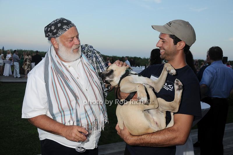 Bruce Weber, Logan, Mike Kavarani<br /> photo by Rob Rich © 2010 robwayne1@aol.com 516-676-3939