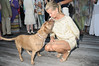 Suri gets some affection from Rene Schlathur<br /> photo by Rob Rich © 2010 robwayne1@aol.com 516-676-3939