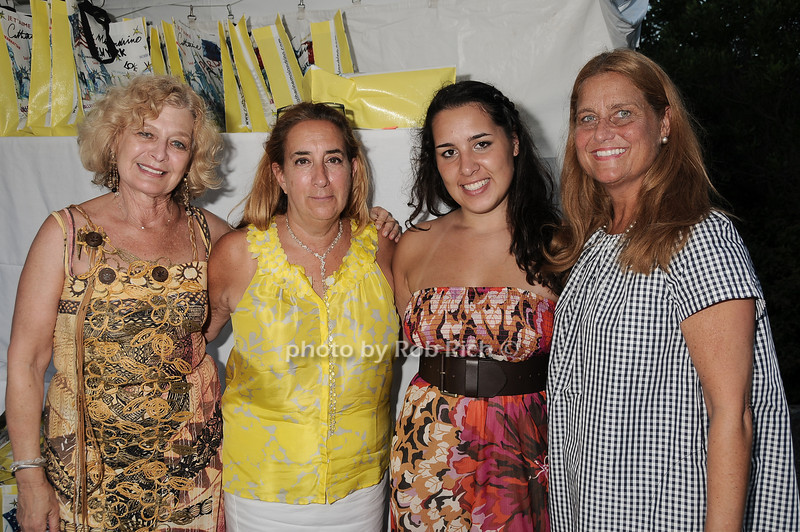 Goldine Eismann, Michele Minkoff, Natalia Saavadra, Bonny Renick<br /> photo by Rob Rich © 2010 robwayne1@aol.com 516-676-3939