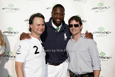 Jason Binn, Dwayne Wade, Jeff Gordon photo by Jakes for Rob Rich © 2010 robwayne1@aol.com 516-676-3939
