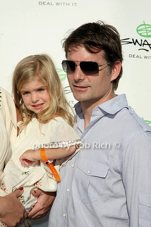 Ella Sofia Gordon, Jeff Gordon photo by Jakes for Rob Rich © 2010 robwayne1@aol.com 516-676-3939