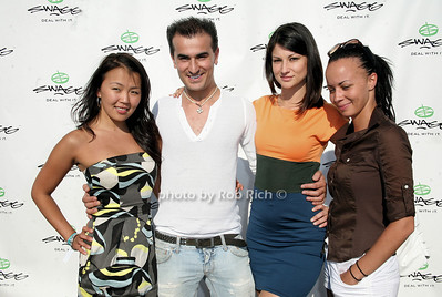 Begaya Abdrraeva, Zach Erdem, Paula Petrava, Loruna Lapougee  photo by Jakes for Rob Rich © 2010 robwayne1@aol.com 516-676-3939