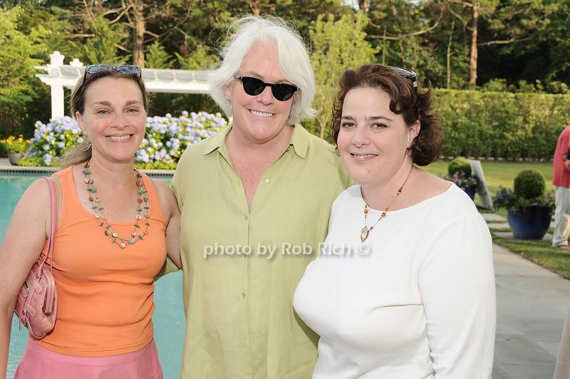 Liz Lasgow,Sally Van Erk, Katerine McMann<br /> <br /> photo by Rob Rich © 2010 robwayne1@aol.com 516-676-3939
